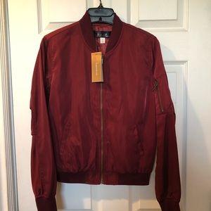Francesca's Collections Jackets & Coats - Lightweight Bomber Jacket